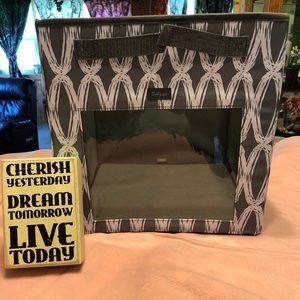 NWT Thirty One Your Way Cube In Charcoal Links